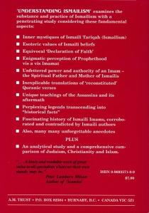 Understanding Ismailsm (back)