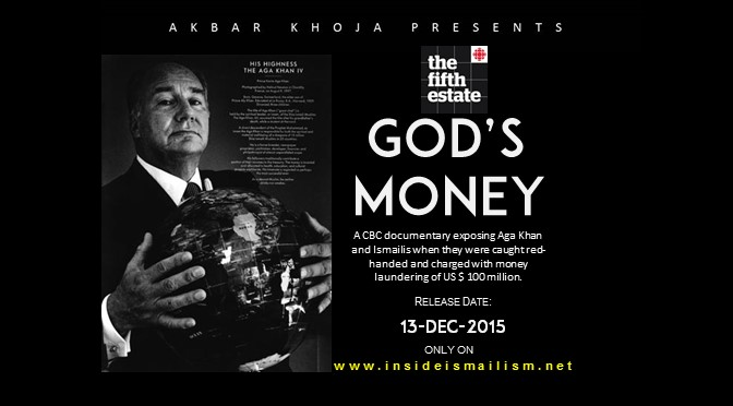 God's Money Release Date Poster
